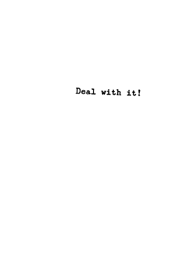 Deal With It (LV) Love Ecard Inside