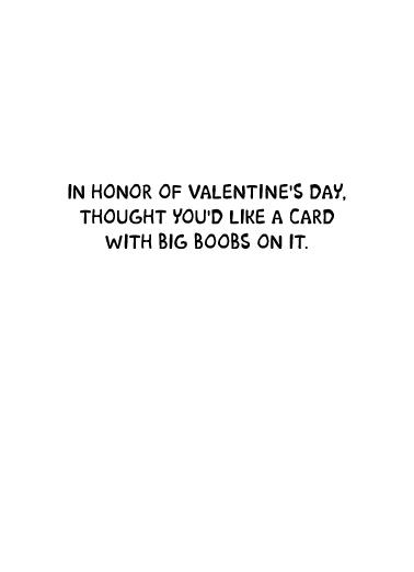 Democrat Heart Valentine's Day Card Inside