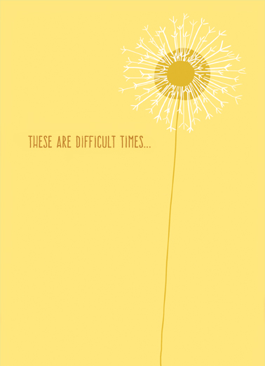 Difficult Times For Any Time Ecard Cover