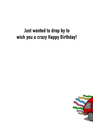 Drive By Birthday Quarantine Card Inside