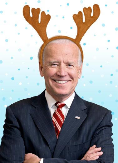 Duncer Biden Christmas Ecard Cover