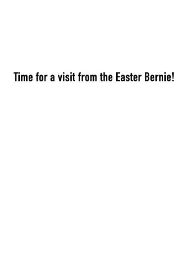Easter Bernie Easter Ecard Inside