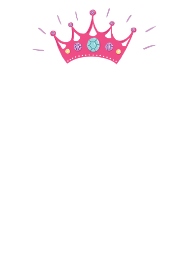 Princess (for any time) For Any Time Ecard Cover