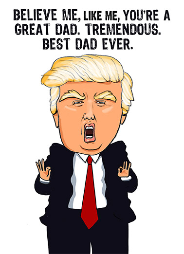 FD Best Dad Ever Father's Day Ecard Cover