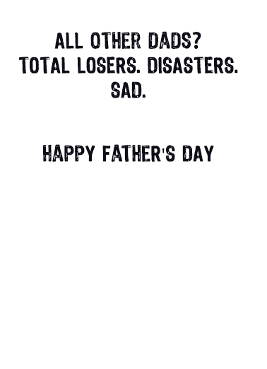 FD Best Dad Ever Father's Day Ecard Inside