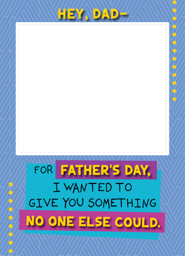 Face Fridge Dad FD Father's Day Ecard Cover