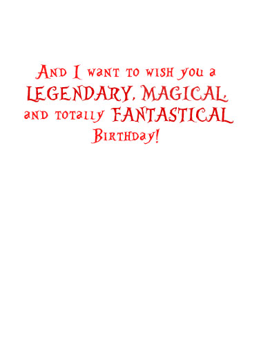 Fantastical Bday Birthday Ecard Inside