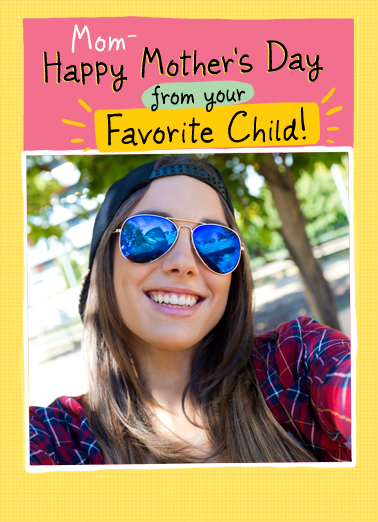 Favorite Child MD 2 Mother's Day Ecard Cover
