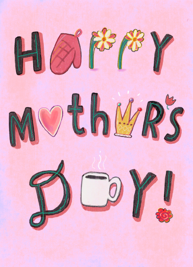 Favorite Mothers Day Things Mother's Day Card Cover