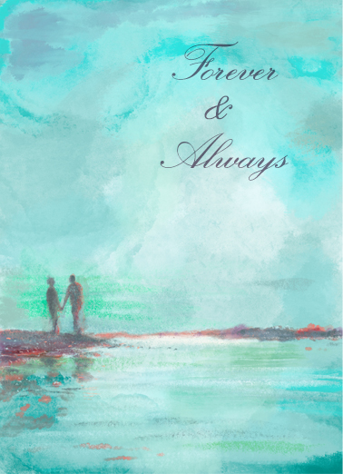 Forever Always Anniversary One from the Heart Card Cover