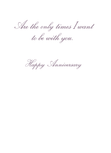 Forever Always Anniversary One from the Heart Card Inside