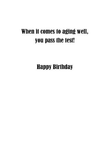 Free Testing Birthday Card Inside