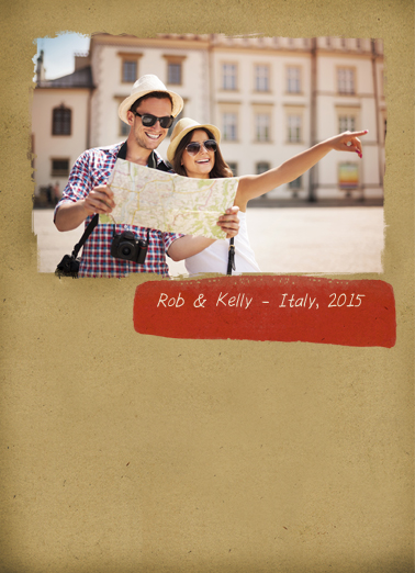 General Travel For Any Time Ecard Cover