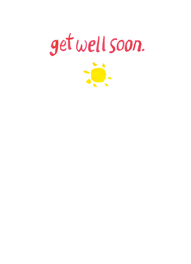 Get Well Tulips Get Well Card Inside