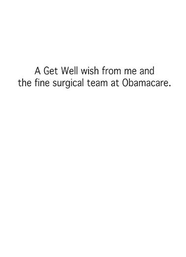 Get Well Wish Get Well Card Inside