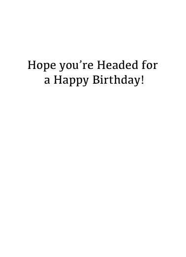 Golf Balls Could Talk Birthday Card Inside
