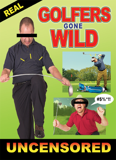 Golfers Gone Wild fd Golf Ecard Cover