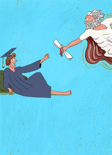 Grad Miracle Graduation Ecard Cover
