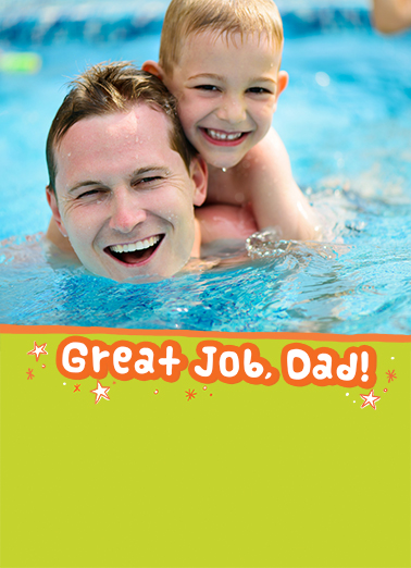 Great Job Dad FD Father's Day Ecard Cover