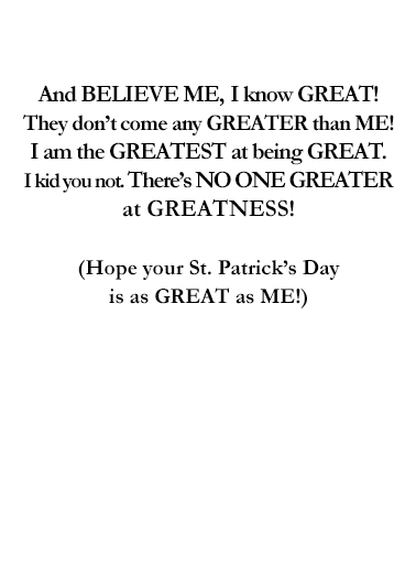Great St. Pat's Day Funny Political Ecard Inside