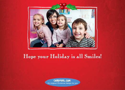 Grins-horiz Christmas Card Inside