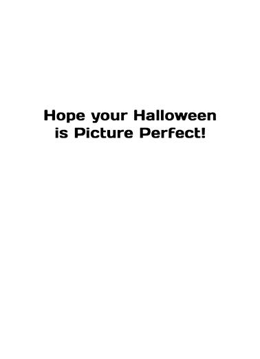 Halloween Selfie Halloween Ecard Inside