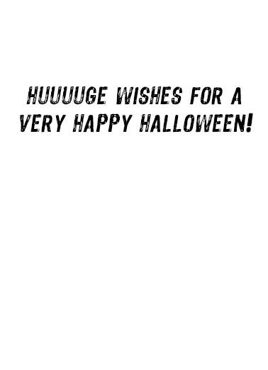 Halloween Trumpkin Halloween Ecard Inside