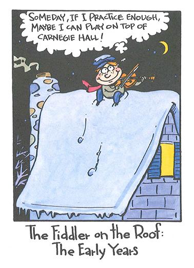 Hanukkah Dreams Hanukkah Card Cover