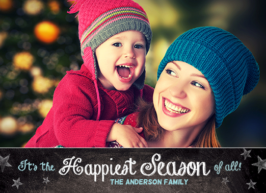 Happiest Season Christmas Card Cover