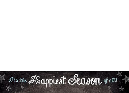 Happiest Season Christmas Card Cover
