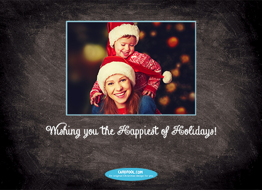 Happiest Season Christmas Card Inside