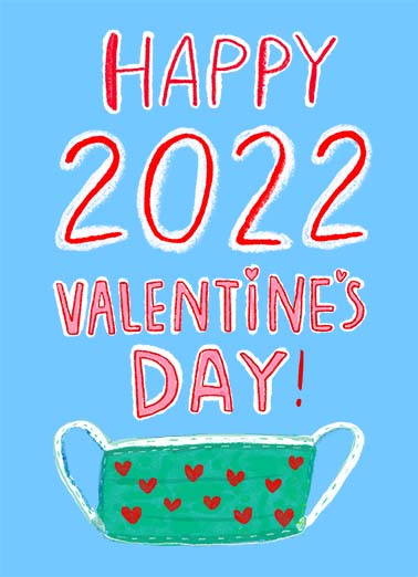 Happy 2021 Valentine  Card Cover