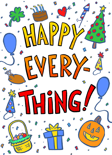 Happy Everything  Ecard Cover