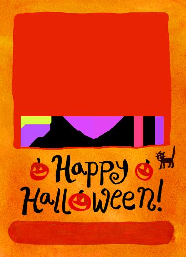Happy Halloween Halloween Ecard Cover