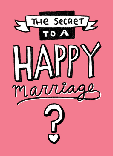 Happy Marriage For Wife Ecard Cover