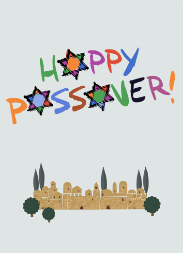 Happy Passover  Ecard Cover