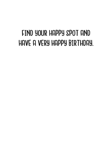 Happy Spot Birthday Card Inside