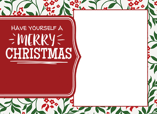Have Yourself Merry Upload Christmas Card Cover