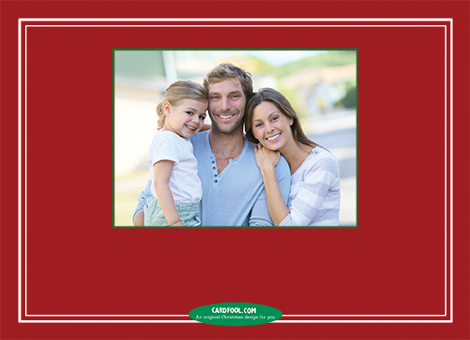 Have Yourself Merry Upload Christmas Card Inside