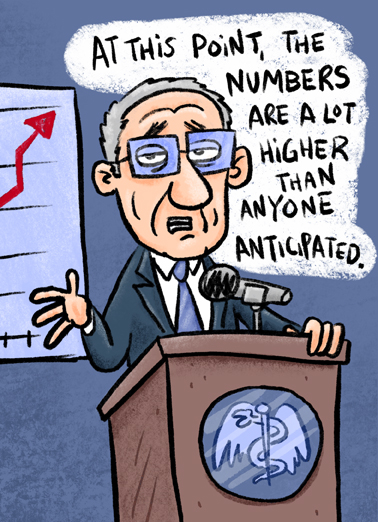 Higher Numbers Funny Political Ecard Cover