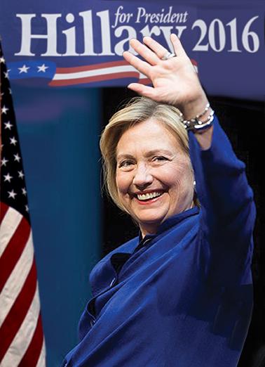 Hillary 2016 Hillary Clinton Ecard Cover