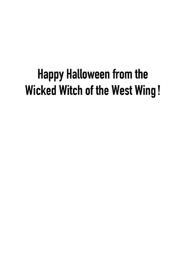 Hillary Witch Halloween Ecard Inside
