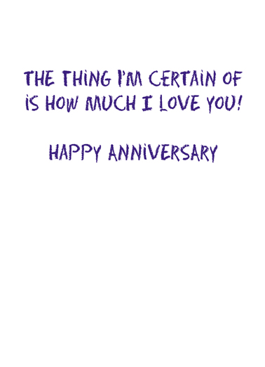 Holding Hands Anni Anniversary Card Inside