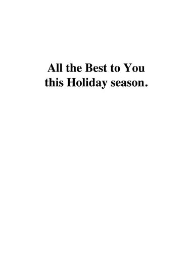 Holiday To Do Christmas Ecard Inside