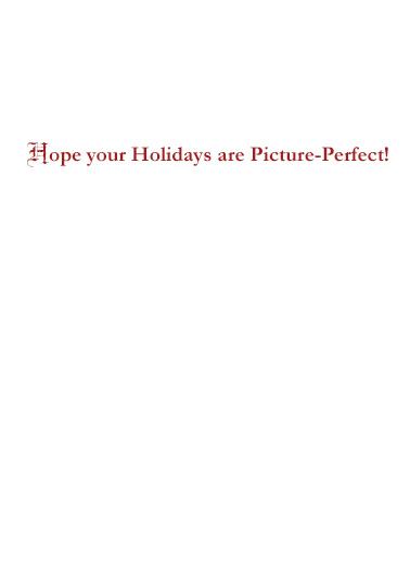 Holiday Trump Selfie Funny Political Ecard Inside