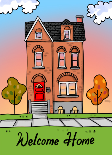 House  Card Cover