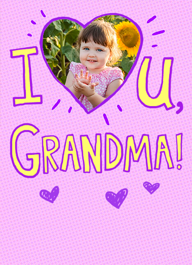 I Heart U md Mother's Day Ecard Cover