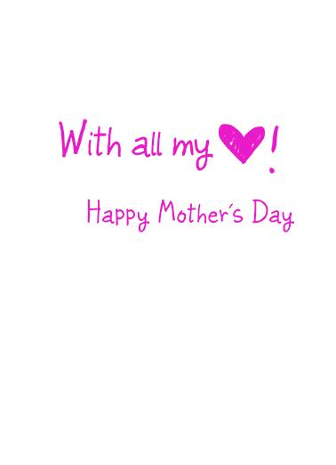I Heart U md Mother's Day Ecard Inside