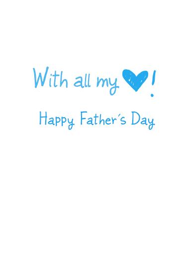 I heart grandpa FD Father's Day Ecard Inside