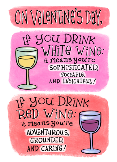 If You Drink VAL Valentine's Day Ecard Cover